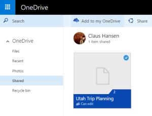 OneDrive Blog Photo