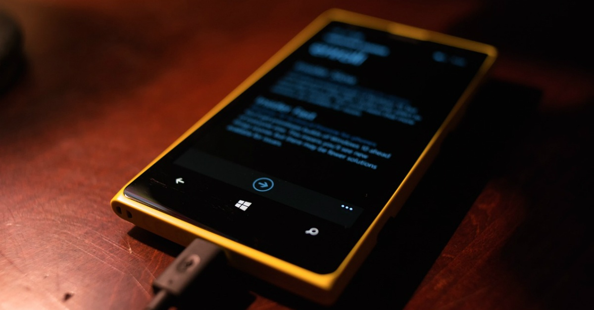 DockedSmartphone